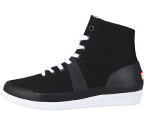 Sneaker high - black/white