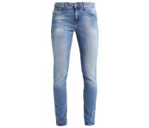 ALISSA Jeans Slim Fit blue green nolita