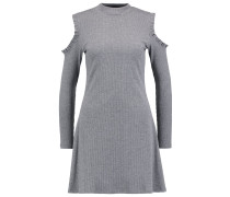 Strickkleid - mid grey
