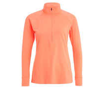 ZINGER ZIP - Langarmshirt - london orange/rhino gray