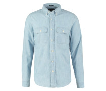 MUSCLE FIT Hemd chambray