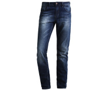AEDAN - Jeans Straight Leg - dark stone wash denim