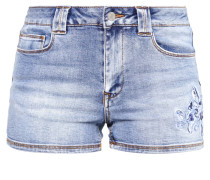 VIDEMAND - Jeans Shorts - medium blue