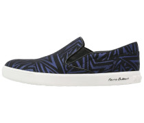 Slipper black/blue