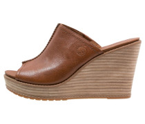 DANFORTH Pantolette hoch brown