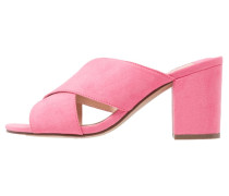 Pantolette hoch - pink