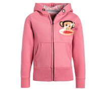 Sweatjacke flamingo pink