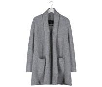 Strickjacke grey melange