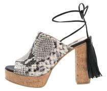 ELENA High Heel Sandaletten negra