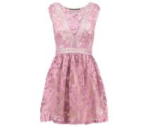 Cocktailkleid / festliches Kleid rose/beige