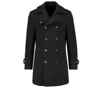 YORKTON Wollmantel / klassischer Mantel dunkelgrau