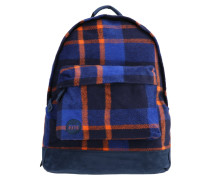 PICNIC CHECK - Tagesrucksack - navy/orange