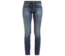 ALEXA Jeans Slim Fit dark stone wash denim