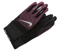 ELITE RUN Fingerhandschuh hyper pink/black/silver