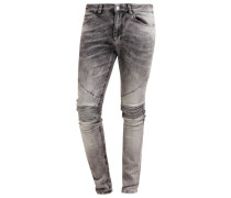CRYPT Jeans Slim Fit grey vein
