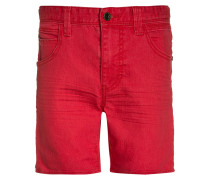 Jeans Shorts - red