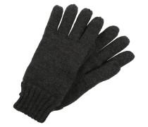 Fingerhandschuh dark grey melange