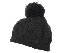 HEAT HUBER Mütze ebony