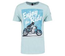 GILSON - T-Shirt print - blue surf
