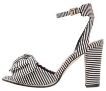 ALGERI - High Heel Sandaletten - white/black