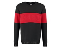 KAJAM Sweatshirt black/red