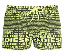 BMBXSANDYE Badeshorts black/yellow