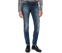 NOVA Jeans Slim Fit moon blue denim