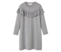 VIOLE - Strickkleid - medium heather grey