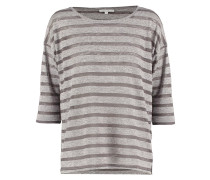 SHERRY Langarmshirt strong grey melange