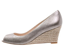 ZELITA Peeptoe dusty gold