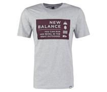 CAMP VIBES TShirt print athletic grey