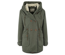 COOL COTTON PARKA Parka green