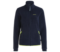 LETHBRIDGE Fleecejacke dress blue