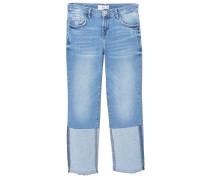 TWOSIDES - Jeans Straight Leg - medium blue