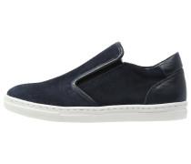 Sneaker low donker blauw