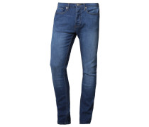 STRETCH SKINNY MID RINSE Jeans Slim Fit mid blue