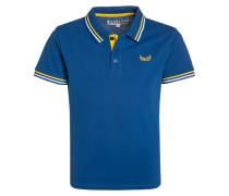 MASOC Poloshirt cobalt