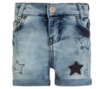 Jeans Shorts - blue denim light