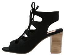 RACER High Heel Sandaletten black