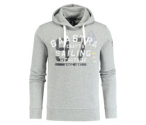 ROUGH SEA Kapuzenpullover grey heather
