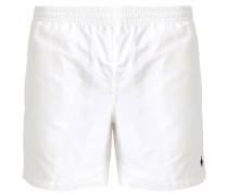 HAWAIIAN Badeshorts white