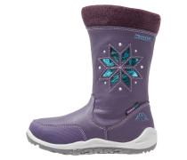 LULLABY TEX Snowboot / Winterstiefel lila/türkis