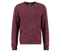 Strickpullover red wine