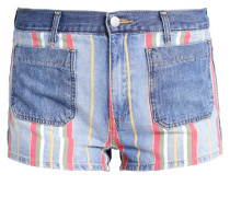 RETRO PIN UP - Jeans Shorts - multicolor
