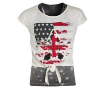 2-IN-1 - T-Shirt print - white
