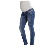 MLTROPEZ - Jeans Slim Fit - medium blue denim
