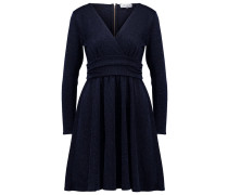 Strickkleid navy