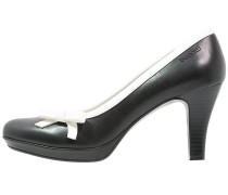 High Heel Pumps black/white