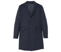 Wollmantel / klassischer Mantel - dark blue