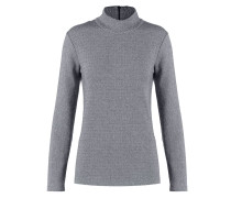 OKSANA Strickpullover light grey melange